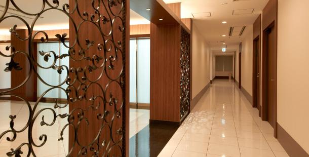大阪市西区西本町のデザイナーズオフィスの「フロアレイアウト」のバナー